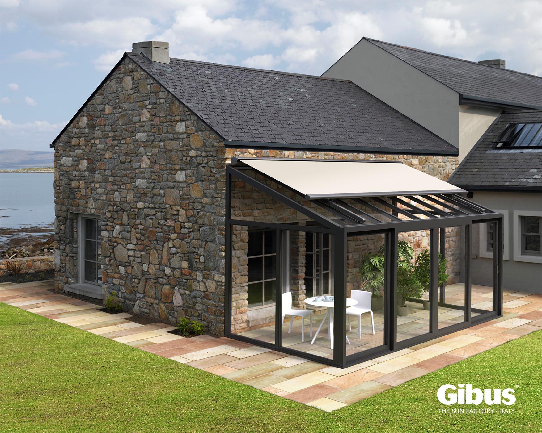 Tende per finestre a bracci in trazione a caduta - Finestre con pannelli solari ...